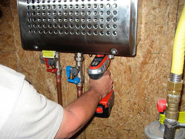 Сделать проточный водонагреватель электрический своими руками 4