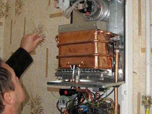 Запаять теплообменник на колонке холодной сваркой скважинный теплообменник температура воды на входе и выходе