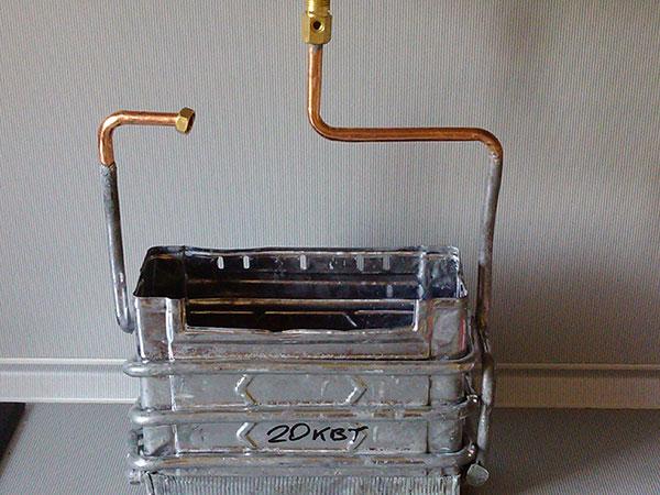 Радиатор газовой колонки Оазис