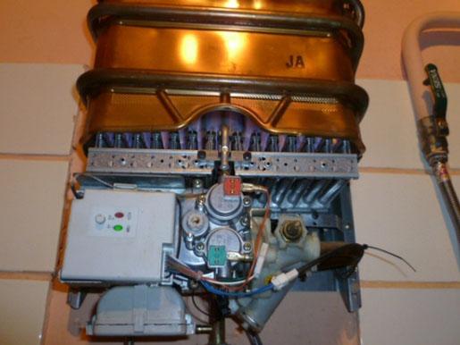 Ремонт редуктора в газовой колонке своими руками