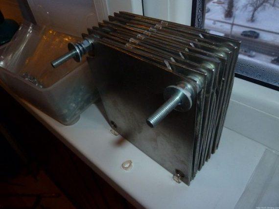 Водородный котел отопления своими руками