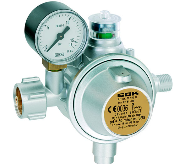 обогрев регуляторов давления газа