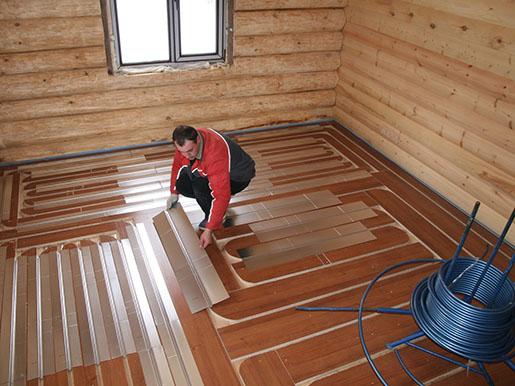 Водяной теплый пол в частном доме своими руками, фото, схемы 5