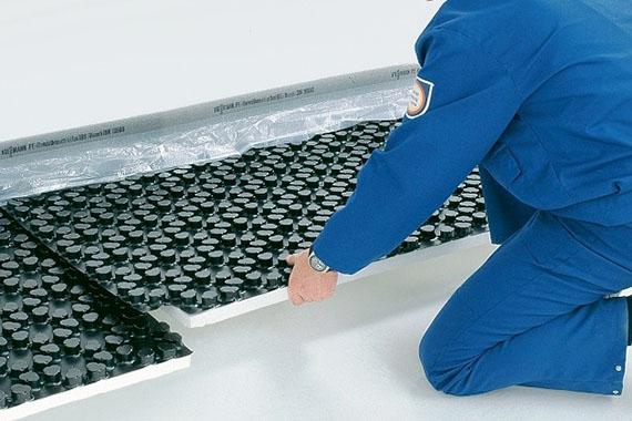 Пенопласт для водяного теплого пола