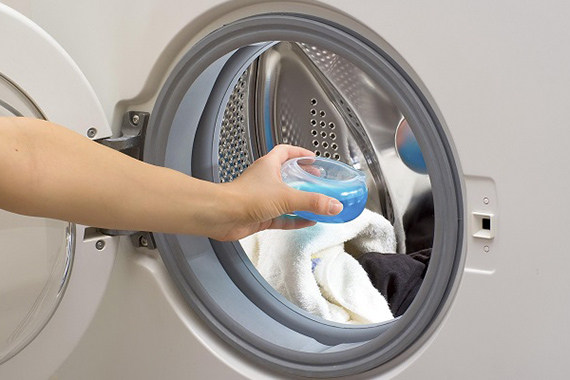 Как Калгон помогает работе стиральной машины