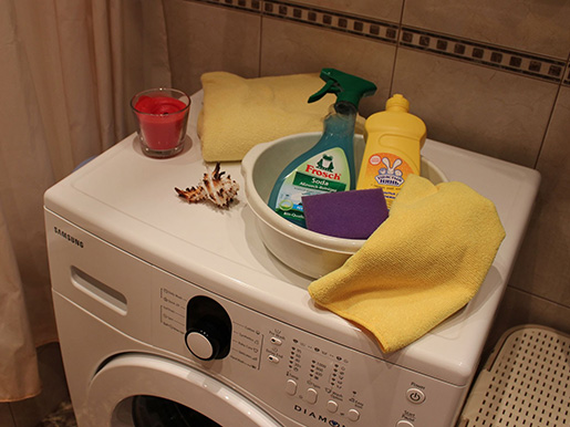 Средства для чистки стиральной машины автомат в домашних условиях