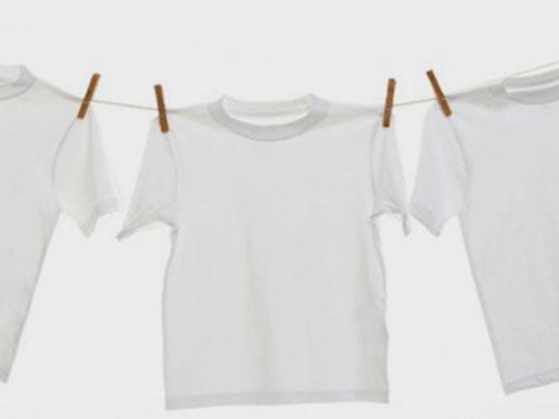 Как отстирать белую рубашку от желтых пятен